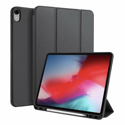 Osom gelové pouzdro na tablet Smart Sleep s podstavcem iPad Pro 12.9'' 2018 černé