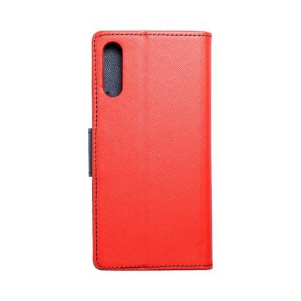 Pouzdro Fancy Book Samsung A70 / A70s červené/tmavě modré