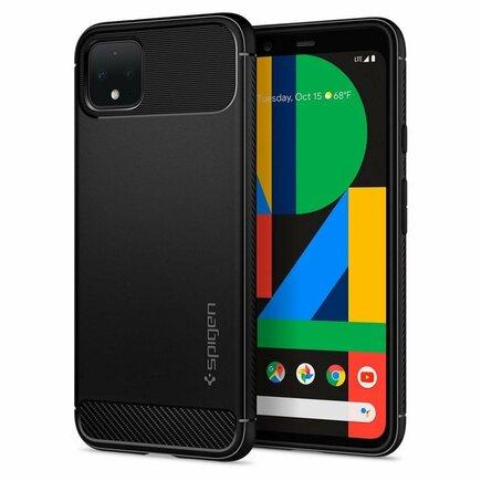 Pouzdro Rugged Armor Google Pixel 4 matte černé