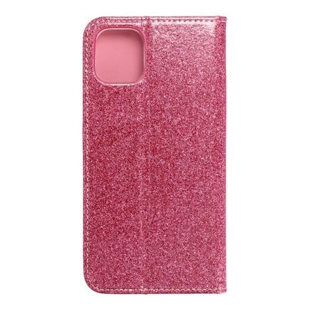 Pouzdro Shining Book iPhone 11 růžové