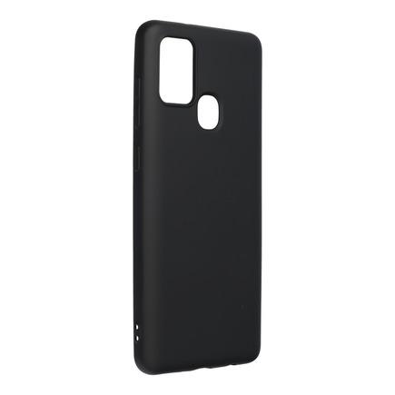 Pouzdro Silicone Lite Samsung Galaxy A21S černé