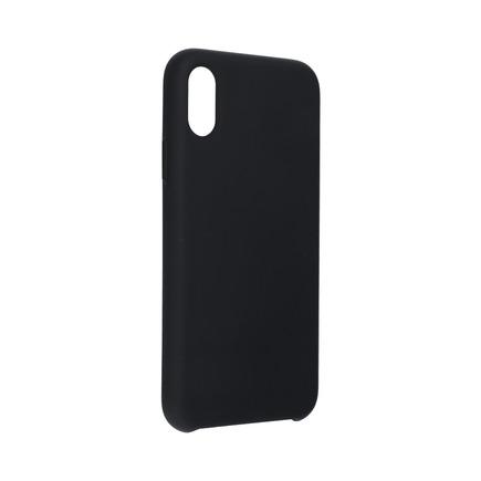 Pouzdro Silicone iPhone XS černé