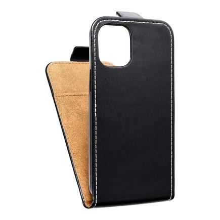 Pouzdro Slim Flexi Fresh svislé iPhone 12 Mini černé