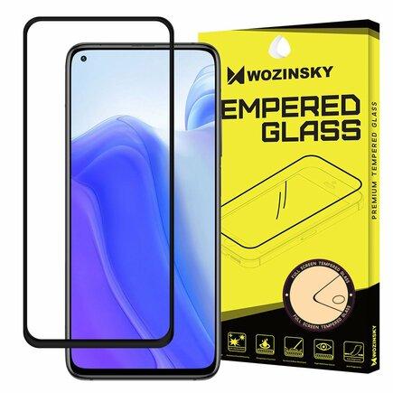 Super odolné tvrzené sklo Full Glue na celý displej s rámem Case Friendly Xiaomi Mi 10T Pro / Mi 10T černé