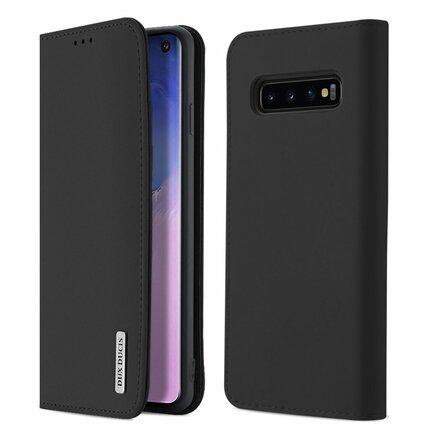 Wish kožené pouzdro Samsung Galaxy S10 černé