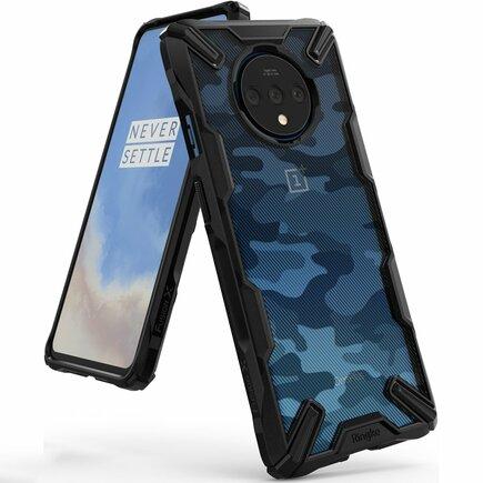 Fusion X Design pancéřové pouzdro s rámem OnePlus 7T Pro černé Camo Black (XDOP0003)
