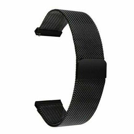 Loop Magnetický Kovový Pásek černý pro Samsung Grear 46mm (EU Blister)
