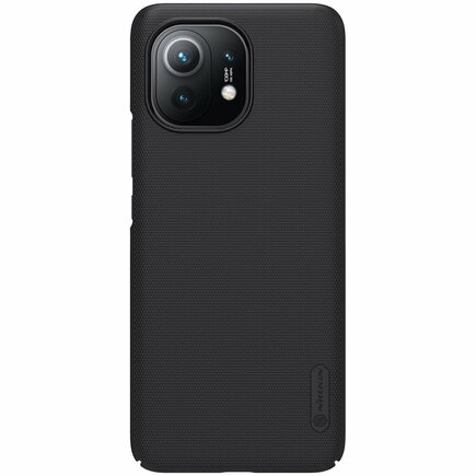 Nillkin Super Frosted Shield zesílené pouzdro + podstavec Xiaomi Mi 11 Lite 5G černé