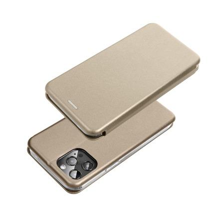 Pouzdro Book Forcell Elegance Xiaomi Redmi Note 9T 5G zlaté
