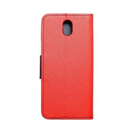 Pouzdro Fancy Book LG K30 2019 červené/tmavě modré