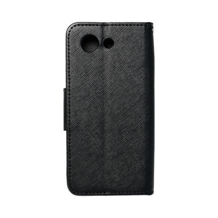 Pouzdro Fancy Book Sony Z3 Compact černé
