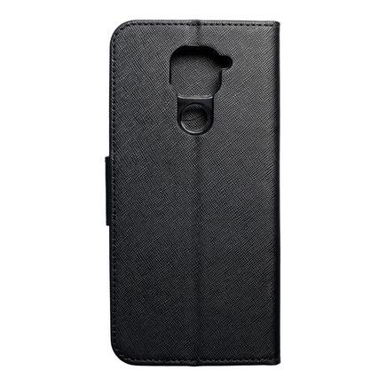 Pouzdro Fancy Book Xiaomi Redmi Note 9 černé