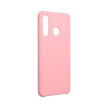 Pouzdro Silicone Huawei P30 Lite pudrově růžové