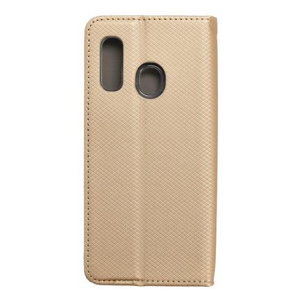 Pouzdro Smart Case book Samsung A40 zlaté