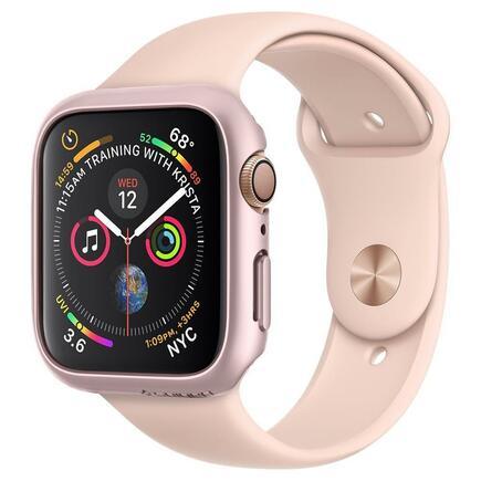 Pouzdro Thin Fit pro Apple Watch 4/5 (44MM) růžově-zlaté