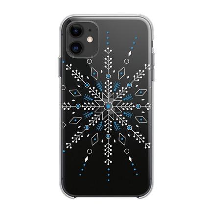 Pouzdro Winter 20 / 21 iPhone 12 Pro Max sněženka