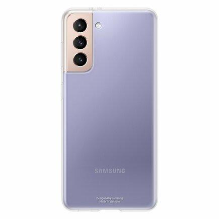 Samsung Clear Cover gelové pouzdro Samsung Galaxy S21 5G průsvitné (EF-QG991TTEGWW)