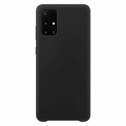 Silicone Case elastické silikonové pouzdro Samsung Galaxy A52 5G / A52 4G černé