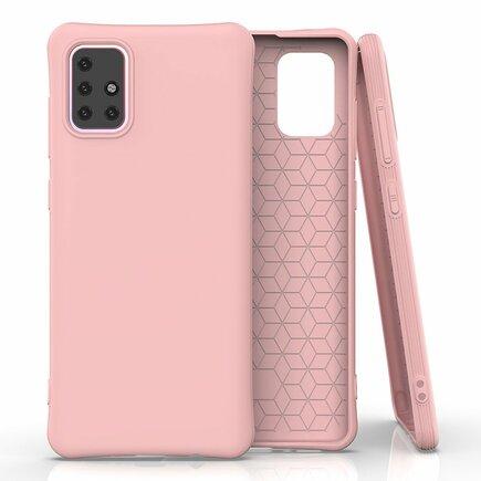 Soft Color Case elastické gelové pouzdro Samsung Galaxy M31s růžové