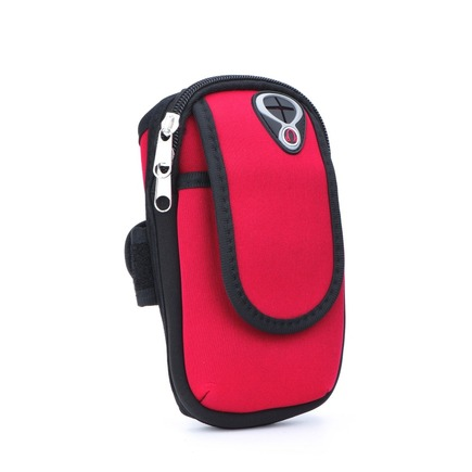 Sportovní pouzdro na rameno FULL CLOSE červené