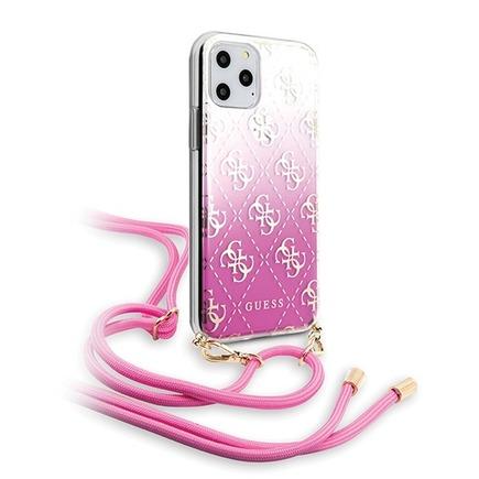 4G Gradient Pouzdro pro iPhone 11 Pro růžové (EU Blister)