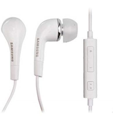 Drátová sluchátka Stereo HF Type C vč. Ovládání Hlasitosti bílá (Bulk)