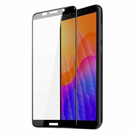 Dux Ducis 9D Tempered Glass odolné tvrzené sklo 9H na celý displej s rámem Huawei Y5p černé (case friendly)