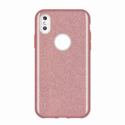 Glitter Case lesklé pouzdro s brokátem Huawei Mate 30 Lite růžové
