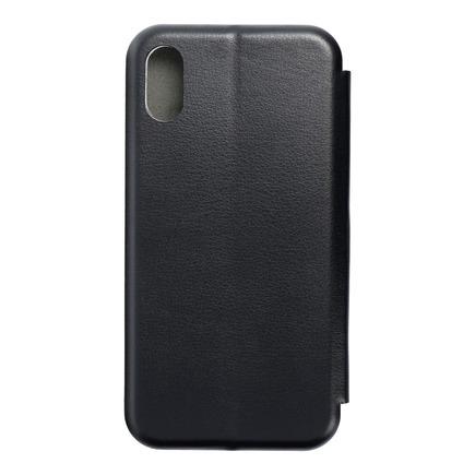 Pouzdro Book Elegance iPhone XS černé
