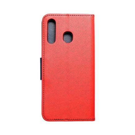 Pouzdro Fancy Book Samsung A30 červené/tmavě modré