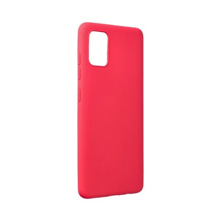 Pouzdro Forcell Soft Samsung Galaxy A52 5G / A52 LTE ( 4G ) červené