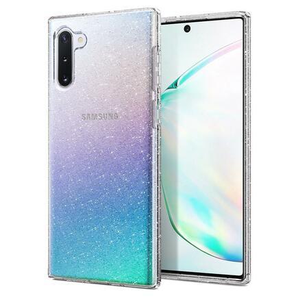 Pouzdro Liquid Crystal Galaxy Note 10 glitter průsvitné