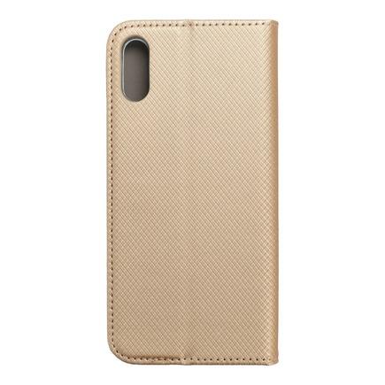 Pouzdro Smart Case book Huawei Y6 2019 zlaté
