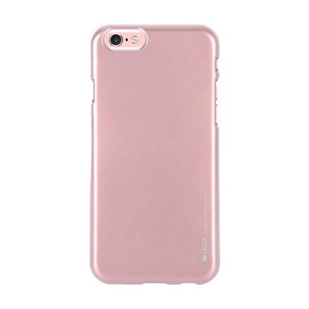 Pouzdro i-Jelly Mercury Samsung Galaxy A20e růžově-zlaté