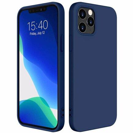 Silicone Case elastické silikonové pouzdro iPhone 12 mini modré