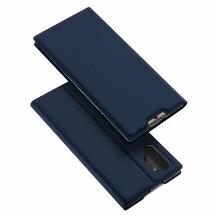 Skin Pro pouzdro s klapkou Samsung Galaxy Note 10 Pro modré