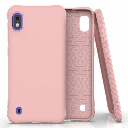Soft Color Case elastické gelové pouzdro Samsung Galaxy A10 růžové