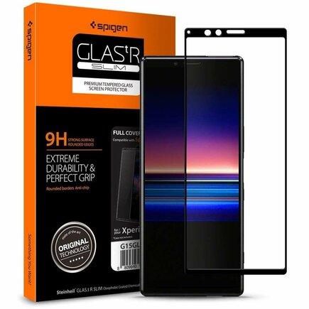 Tvrzené sklo Glass FC Sony Xperia 1 černé