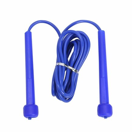 Švihadlo pro fitness crossfit boxerské rychlé modré