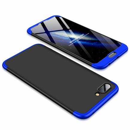 360 Protection pouzdro na přední i zadní část telefonu Huawei Honor 10 černo-modré