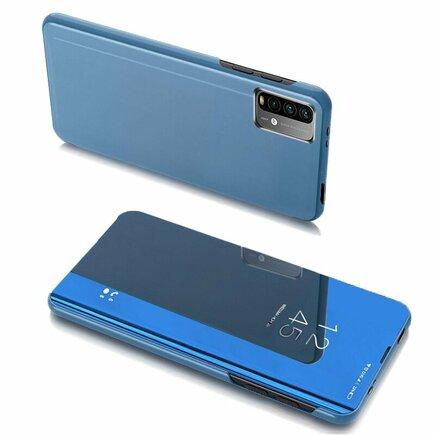 Clear View Case pouzdro s klapkou Xiaomi Poco M3 / Xiaomi Redmi 9T modré