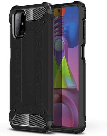 Hybrid Armor pancéřové hybridní pouzdro Samsung Galaxy M51 černé