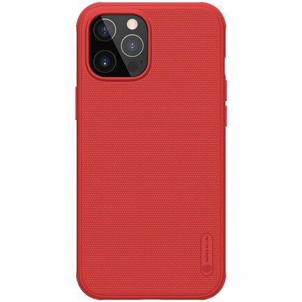 Nillkin Super Frosted PRO Pouzdro pro iPhone 12 / 12 Pro 6.1 červené