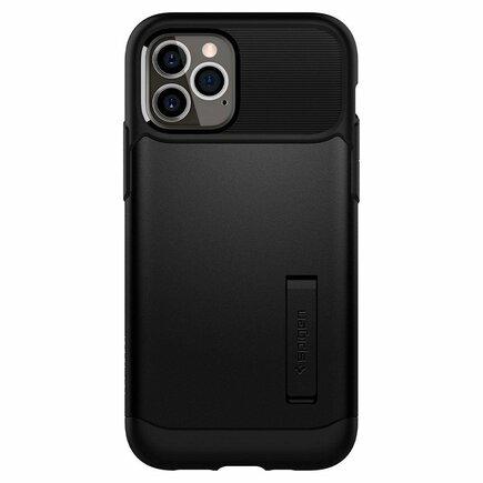 Pouzdro Slim Armor iPhone 12 Pro / iPhone 12 černé