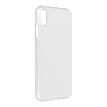 Pouzdro i-Jelly Mercury iPhone XS Max stříbrné