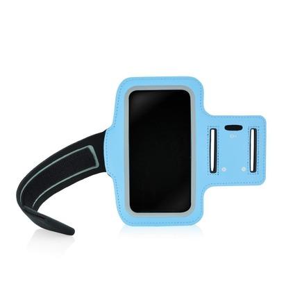 Sportovní pouzdro na rameno (rozměr APP IPHO 5) HSK-01 modré