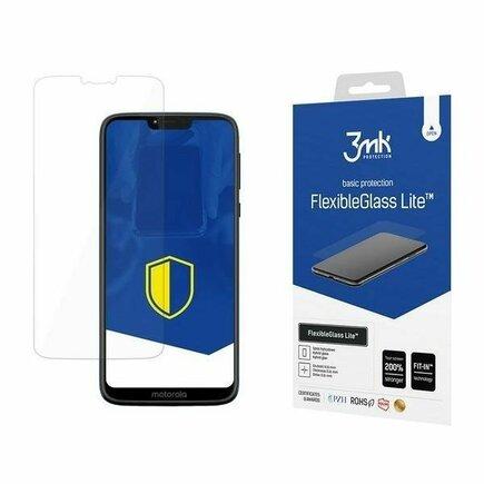 3MK FlexibleGlass Lite Moto G7 Power hybridní sklo