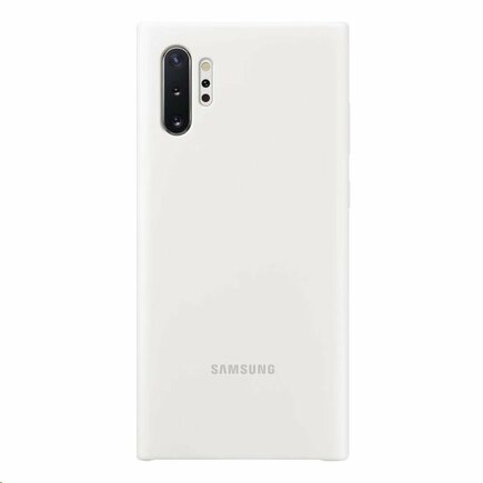 EF-PN975TWE Samsung Silikonový Kryt pro N975 Galaxy Note 10+ White