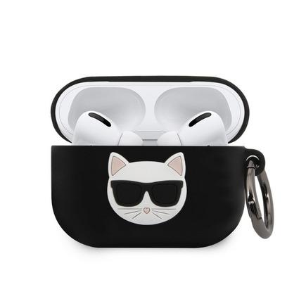 Karl Lagerfeld Choupette Pouzdro pro Airpod Pro černé