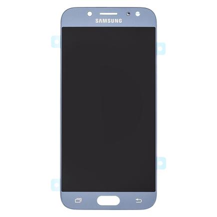 LCD display + Dotyk stříbrný pro Samsung J530 Galaxy J5 2017 (Service Pack)